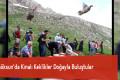 Göksun'da Kınalı Keklikler Doğayla Buluştular