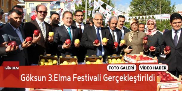 Göksun 3.Elma Festivali Gerçekleştirildi