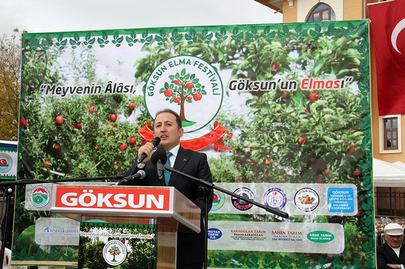 Göksun 3.Elma Festivali-Göksun Kaymakamı Ali Hamza Pehlivan