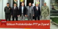 Göksun Protokolü PTT'yi Ziyaret Etti