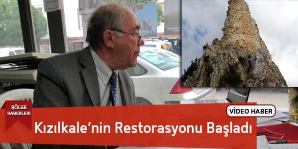 Kızılkale Kalesi İçin Restorasyon Başladı