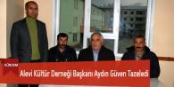 Göksun Alevi Kültür Derneği Başkanı Aydın Güven Tazeledi