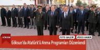 Göksun'da Atatürk'ü Anma Programları Düzenlendi