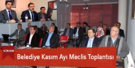 Göksun Belediyesi Kasım Ayı Meclis Toplantısı