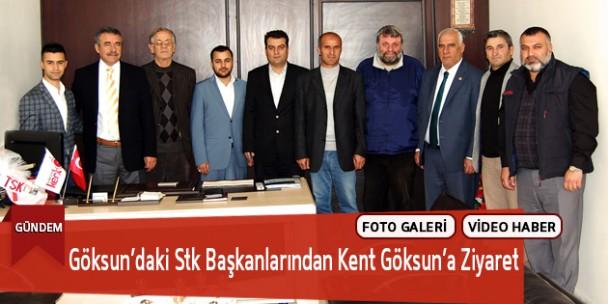 Göksun'daki Stk Başkanlarından Kent Göksun'a Ziyaret