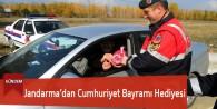 Jandarma'dan Cumhuriyet Bayramı Hediyesi