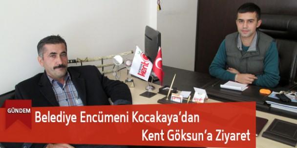 Belediye Encümeni Kocakaya'dan Kent Göksun'a Ziyaret
