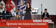 Göksun'da Öğretmenler Günü Kutlama Gecesi Düzenlendi