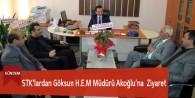 STK'lardan Göksun HEM Müdürü Akoğlu'na Ziyaret