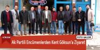 Ak Partili Encümenlerden Kent Göksun'a Ziyaret