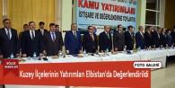 Kuzey İlçelerinin Yatırımları Elbistan'da Değerlendirildi