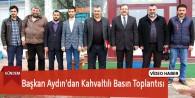 Göksun Belediye Başkanı Aydın'dan Kahvaltılı Basın Toplantısı