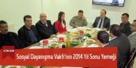 Sosyal Dayanışma Vakfı'nın 2014 Yıl Sonu Yemeği