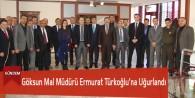 Göksun Mal Müdürü Ermurat Türkoğlu'na Uğurlandı