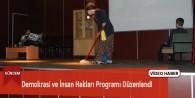 Göksun'da Demokrasi ve İnsan Hakları Programı Düzenlendi