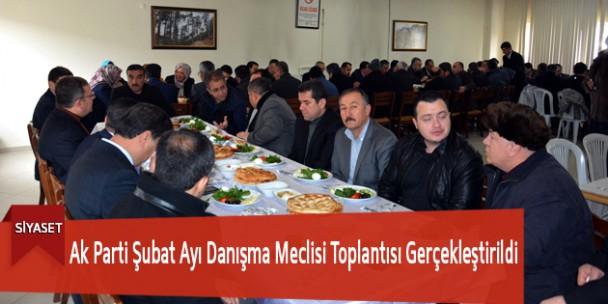 Ak Parti Şubat Ayı Danışma Meclisi Toplantısı Gerçekleştirildi