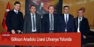 Göksun Anadolu Lisesi Litvanya Yolunda