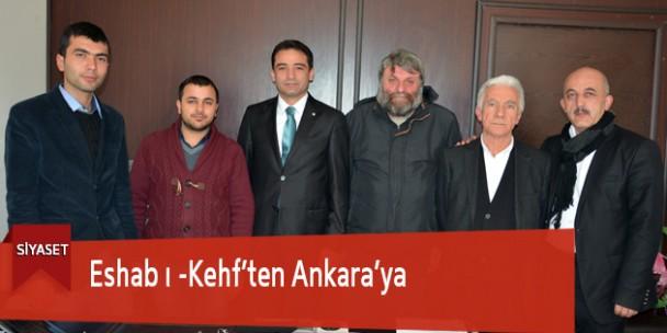Eshab ı -Kehf'ten Ankara'ya