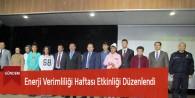 Enerji Verimliliği Haftası Etkinliği Düzenlendi