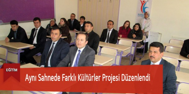 Aynı Sahnede Farklı Kültürler Projesi Düzenlendi