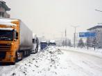 Kar Yağışı Yeniden Göksun'da Ulaşımı Aksatıyor-Video