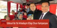 Göksun'da Yol Arkadaşım Kitap Olsun Kampanyası