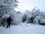 Kar Göksun'u Güzelleştiriyor-Video