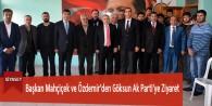 Başkan Mahçiçek ve Özdemir'den Göksun Ak Parti'ye Ziyaret