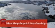 Göksun Adatepe Barajında Su Dolum Oranı Artıyor