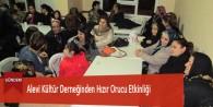 Alevi Kültür Derneğinden Hızır Orucu Etkinliği