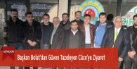 Başkan Bolat'dan Güven Tazeleyen Cüce'ye Ziyaret