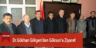 Dr.Gökhan Gökşen'den Göksun'a Ziyaret
