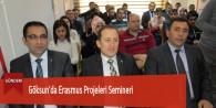 Göksun'da Erasmus Projeleri Semineri