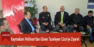 Kaymakam Pehlivan'dan Güven Tazeleyen Cüce'ye Ziyaret