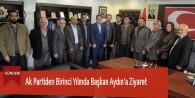 Ak Partiden Birinci Yılında Başkan Aydın'a Ziyaret