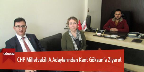CHP Milletvekili A.Adaylarından Kent Göksun'a Ziyaret