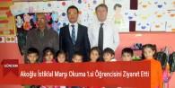 Akoğlu İstiklal Marşı Okuma 1.si Öğrencisini Ziyaret Etti
