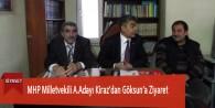 MHP Milletvekili A.Adayı Kiraz'dan Göksun'a Ziyaret