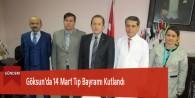 Göksun'da 14 Mart Tıp Bayramı Kutlandı