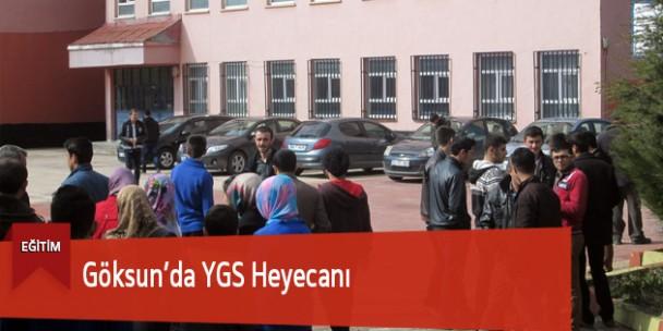 Göksun'da YGS Heyecanı