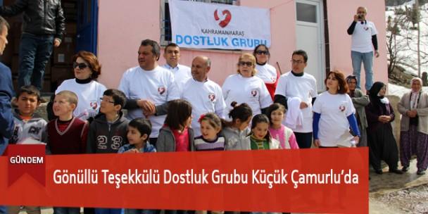 Gönüllü Teşekkülü Dostluk Grubu Küçük Çamurlu'da