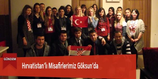 Hırvatistan'lı Misafirlerimiz Göksun'da