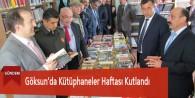 Göksun'da Kütüphaneler Haftası Kutlandı