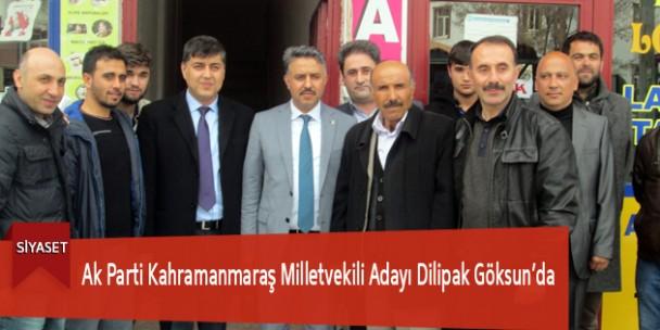 Ak Parti Kahramanmaraş Milletvekili Adayı Dilipak Göksun'da