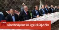 Göksun Müftülüğünden 1000 Kişiye Kutlu Doğum Pilavı