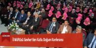 İl Müftüsü Gevher'den Kutlu Doğum Konferansı