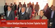 Göksun Belediyesi Nisan Ayı Encümen Toplantısı Yapıldı
