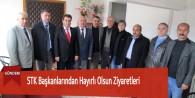 STK Başkanlarından Hayırlı Olsun Ziyaretleri