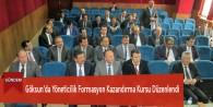 Göksun'da Yöneticilik Formasyon Kazandırma Kursu Düzenlendi