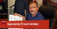 Başkan Aydın'dan 173 Konutlu Toki Müjdesi